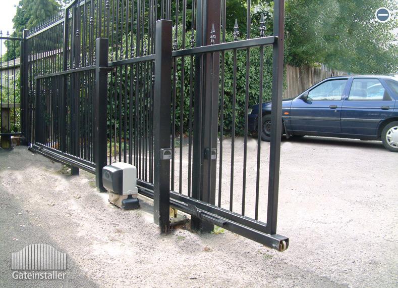 Automatiniai kiemo vartai   Statyba PRIMlt